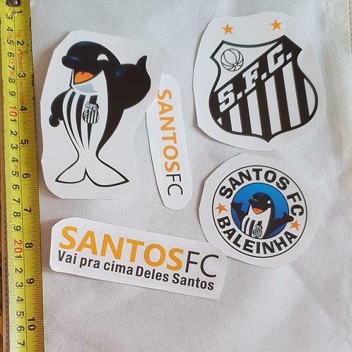Adesivos para moto do Santos