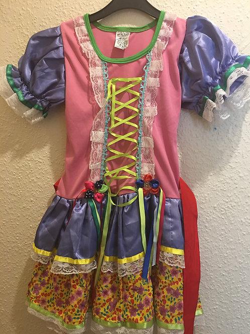 Vestido de Caipira 8 anos.