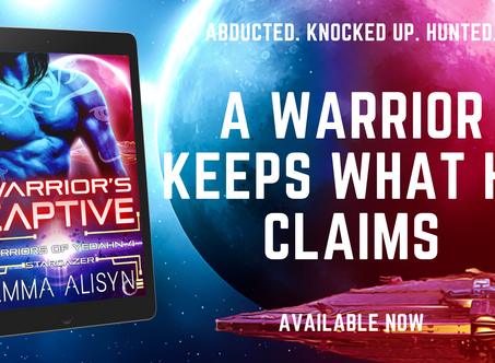 Warrior's Captive Pre Launch Giveaway