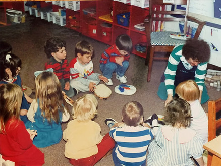 Children during Circle Time