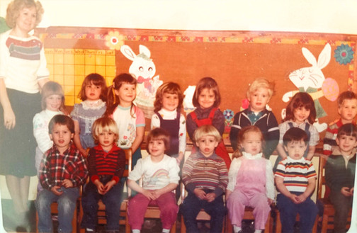 Class picture - 1980's