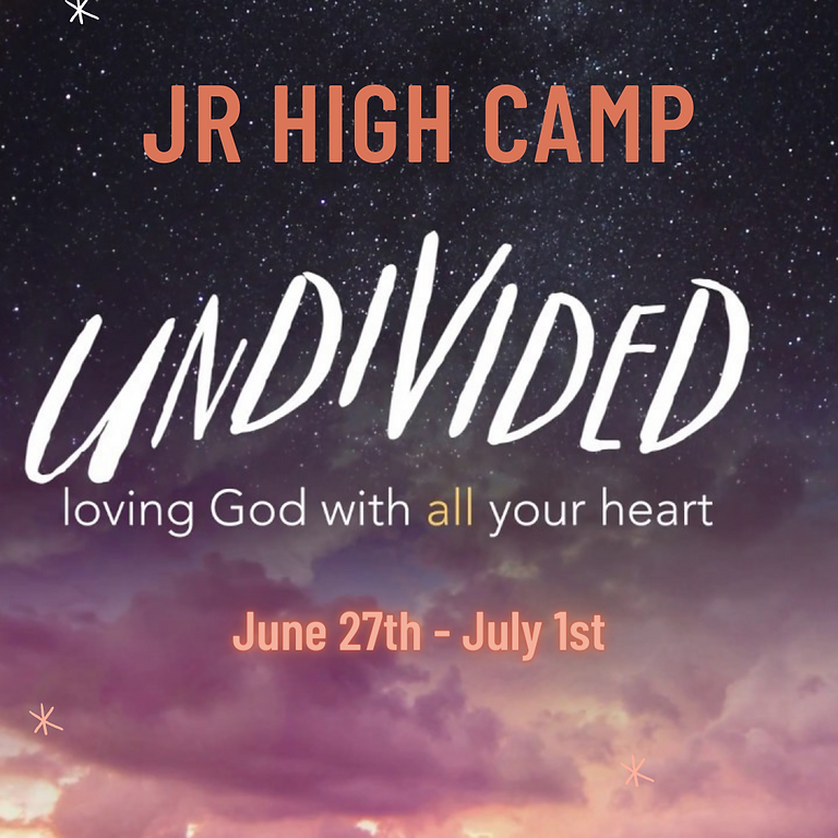 Jr High Camp