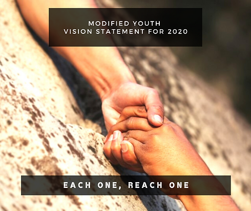 Modified Youth Vision Statement for 2020