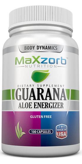 Maxzorb Guarana Aloe Energizer