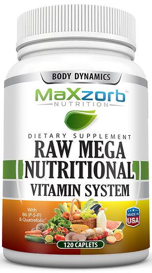 Maxzorb Raw Mega Nutritional Vitamin