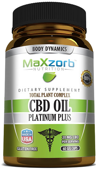 Maxzorb Platinum Plus CBD Oil