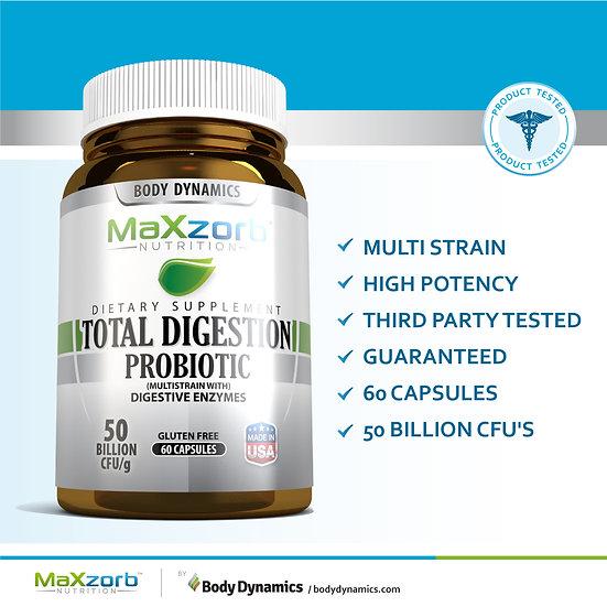 Maxzorb Total Digestion Probiotic