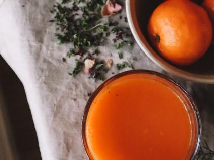 Porkkana-Appelsiini-Inkivääri mehu / SUNSHINE REGGAE