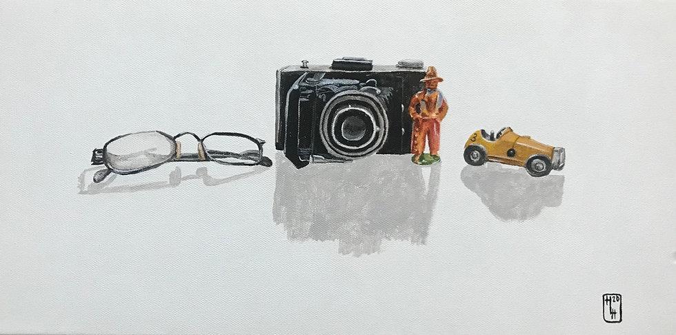 A Snapshot of Tangible Memories 13x21 Ac