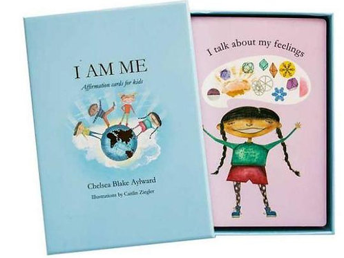 I Am Me Affirmations Cards For Kids