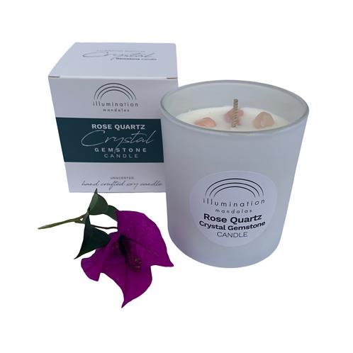 Gemstone Candle - Rose Quartz
