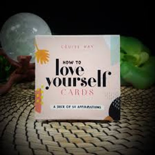 How to Love Yourself Affirmation Cards