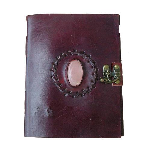 Medium Leather Journal - One Stone