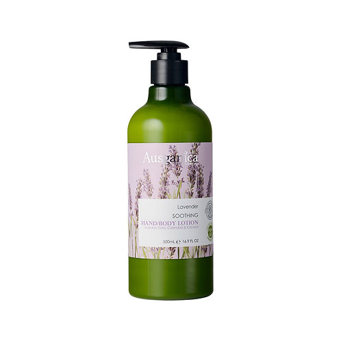 Ausganica Lavender Soothing Hand/Body Lotion 500ml