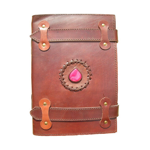 Large Leather Journal - Double Band