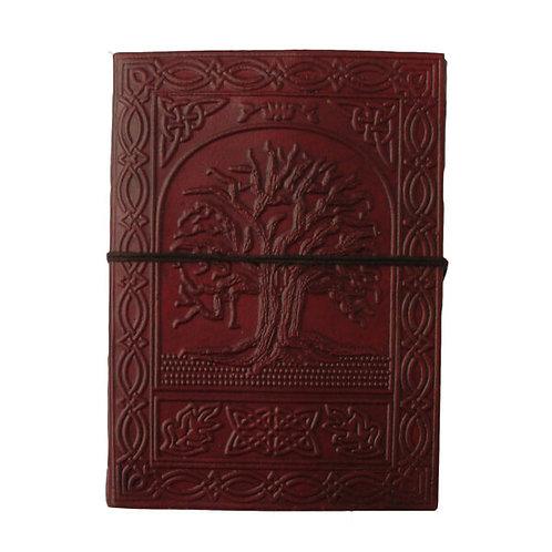 Medium Leather Journal - Tree Of Life