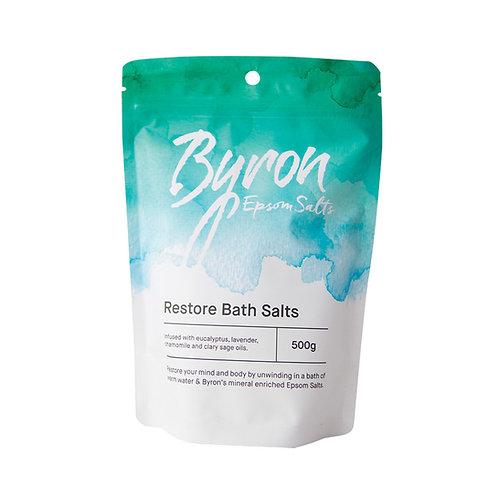 Byron Epsom Salts Restore Bath Salts 500g
