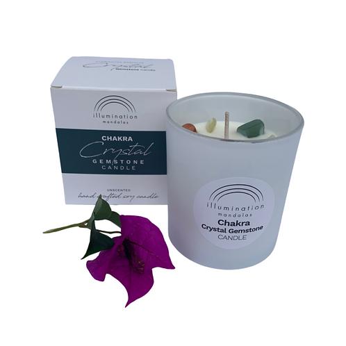 Gemstone Candle - Chakra