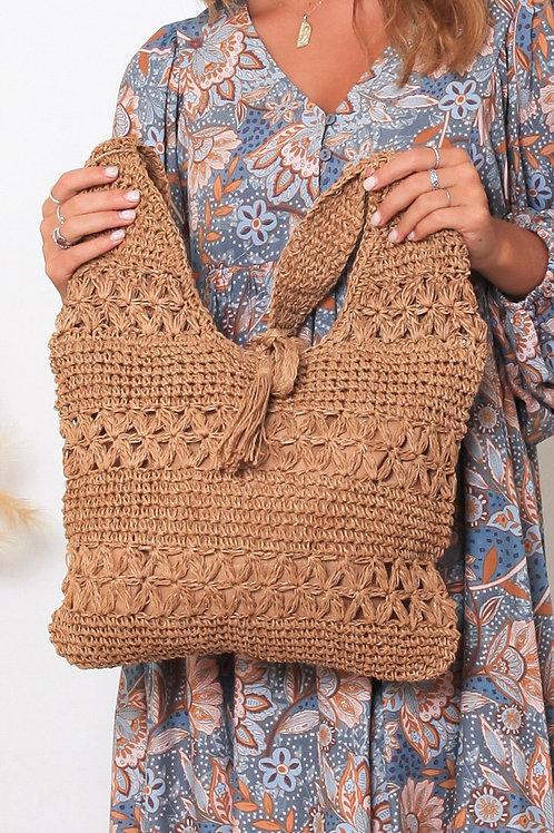 Large Straw Bag