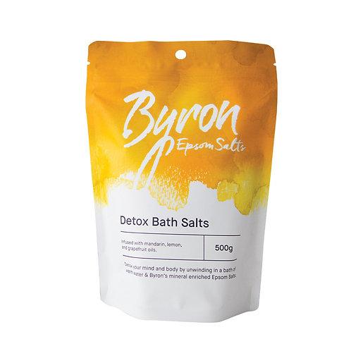 Byron Epsom Salts Detox Bath Salts 500g