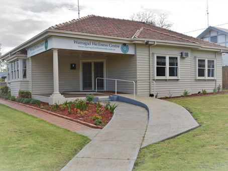 Evolution of Warragul Wellness Centre