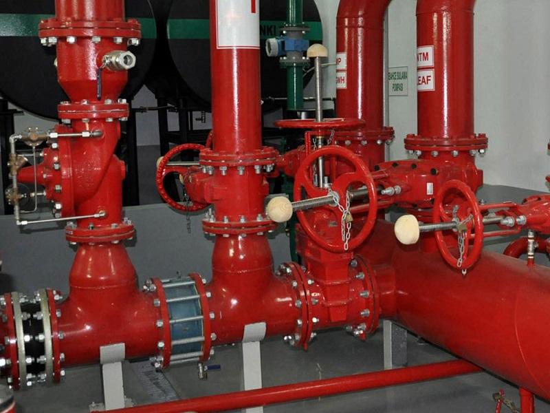 Yangın Sistemi Vanası