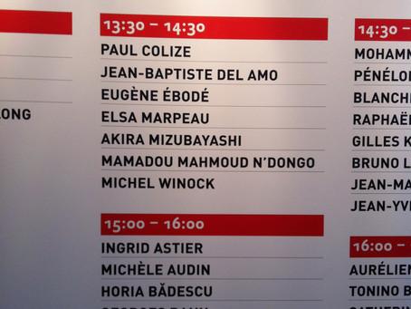 23 mars 2013 / Signatures-dédicaces au Salon du Livre 2013, porte de Versailles