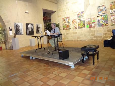 13 août 2012, « L'amour de la musique, la passion de la langue », conférence à Figeac (Lot)