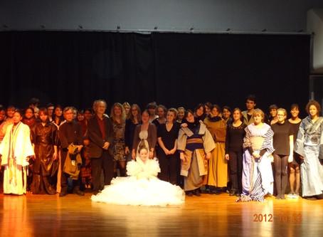 22 octobre 2012 / au Lycée Camille Claudel à Vauréal
