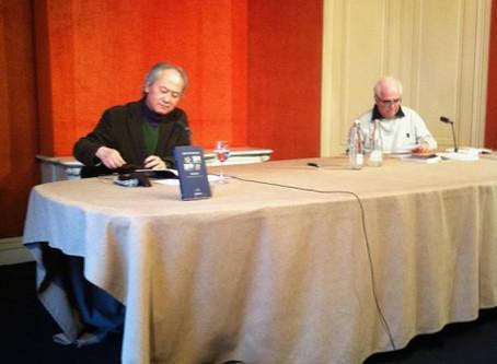 15 février 2013 / Rencontre à la librairie Mollat à Bordeaux : dialogue avec Jérôme Roger