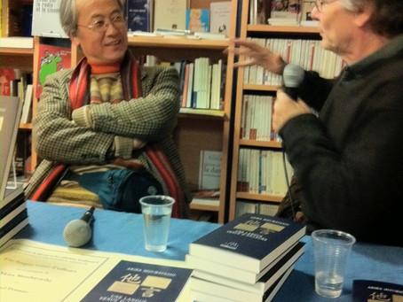 19 mars 2011/ En compagnie de Daniel Pennac, à la Librairie Le Divan (Paris)