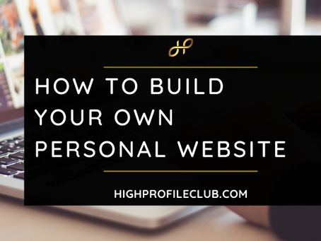 How to Build Your Own Personal Website