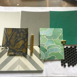 Amazing color palette by _mcgeheedesign thrilled to show this one off.  Stay tuned..