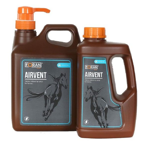 Foran Equine Airvent Syrup 2.5ltr