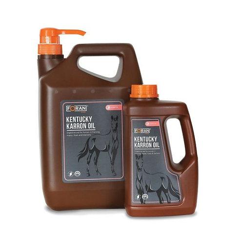 Foran Equine Kentucky Karron Oil 4.5ltr