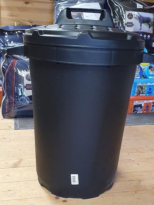 90L PVC Feed Bin with Twist Lock Lid