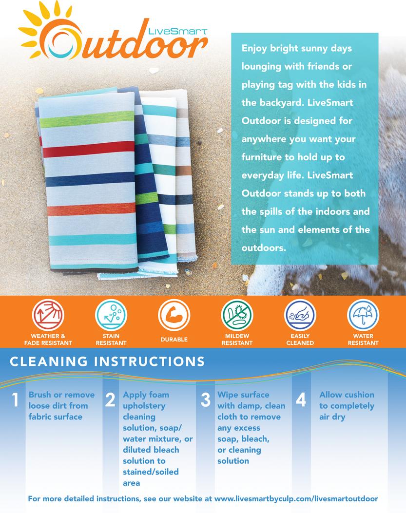 LiveSmart Outdoor Info Sheet