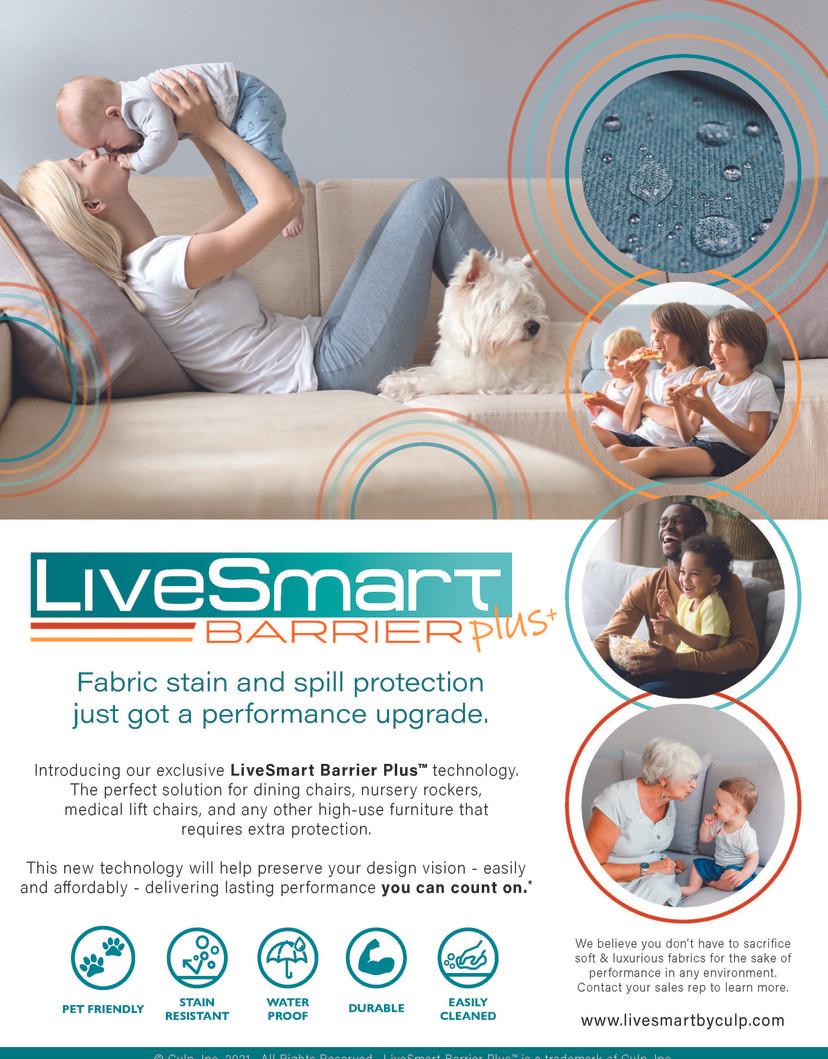 LiveSmart Barrier+ Info Sheet Front