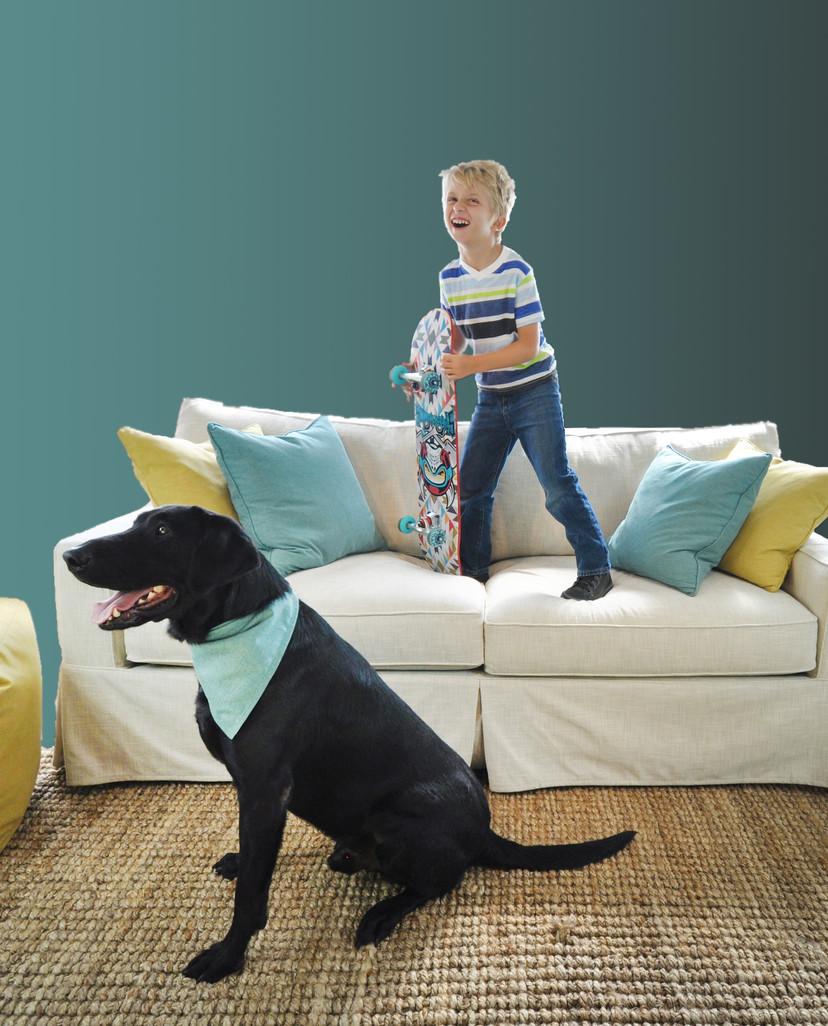 LiveSmart Ultra Eli and Dog