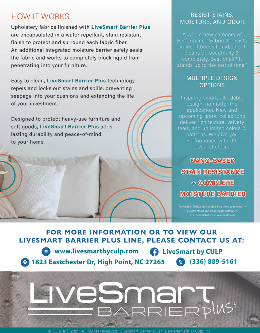 LiveSmart Barrier+ Info Sheet Back