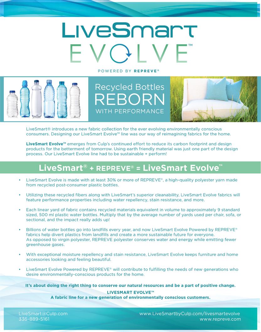 LiveSmart Evolve Info Sheet Back