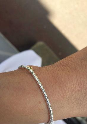 Bracelet-Pulsera-Mille-et-une-perles-Or-
