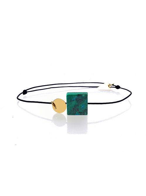 BRACELET MALACHITE 18K | PURIFICATION