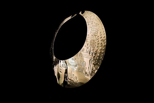 Pectoral Nasca. Art Precolombien. Motche