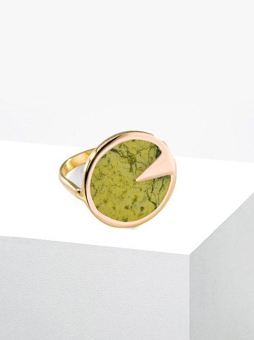 BAGUE CUSCO 18K | SERPENTINE
