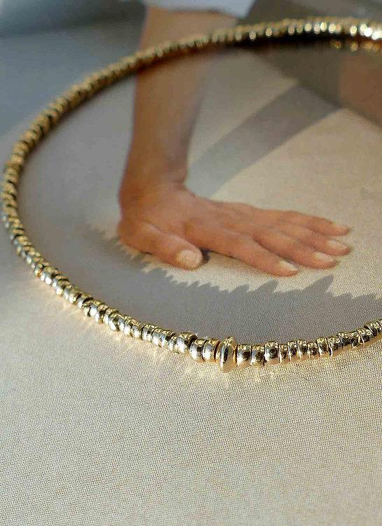 Bracelet-Gold18k-chaquiras-perles-precol