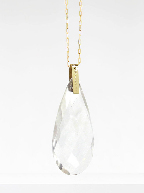 COLLIER AMULETTE | CRISTAL HYALIN