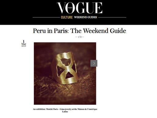Vogue. Week-end Guide Paris
