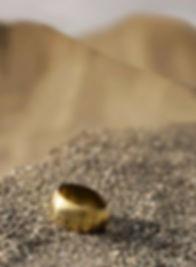 Manchette Bracelet Or18k Ucupe. Motche J