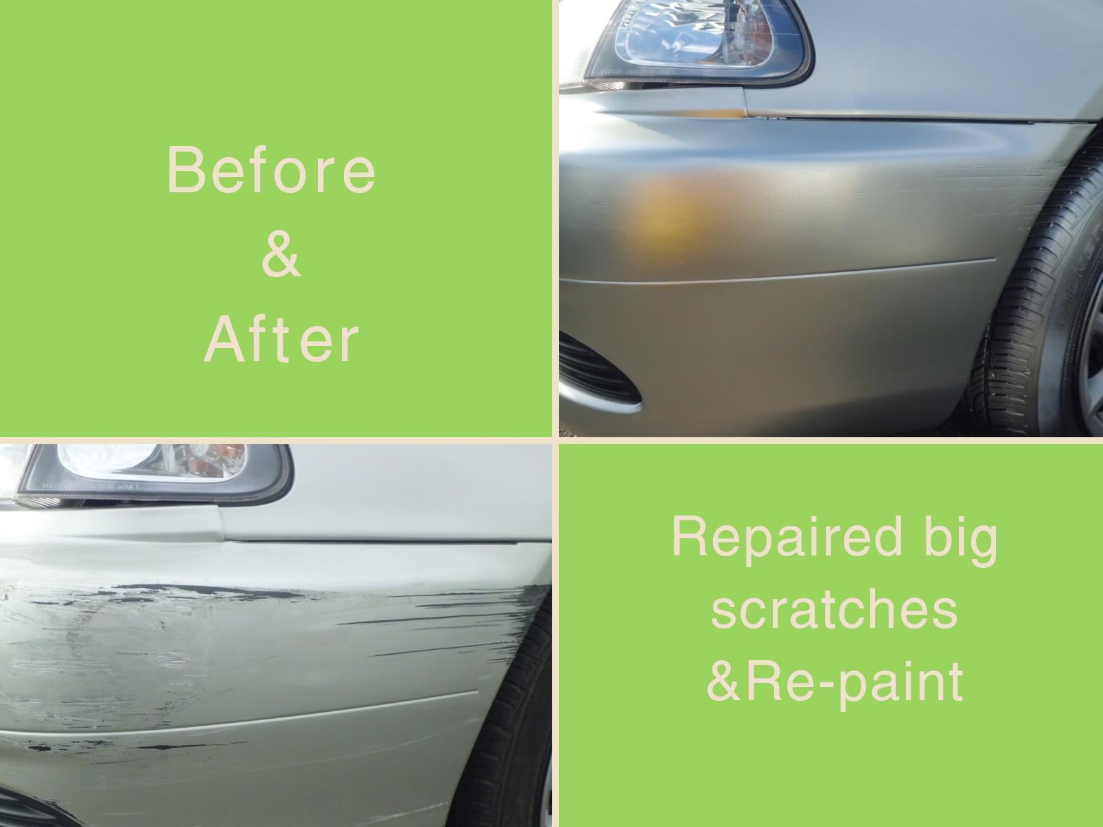 repair scratch